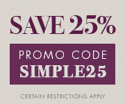 Save with promo code SIMPLE25